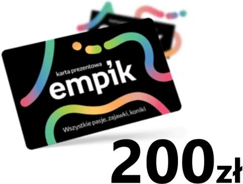 Karta podarunkowa Empik - 200